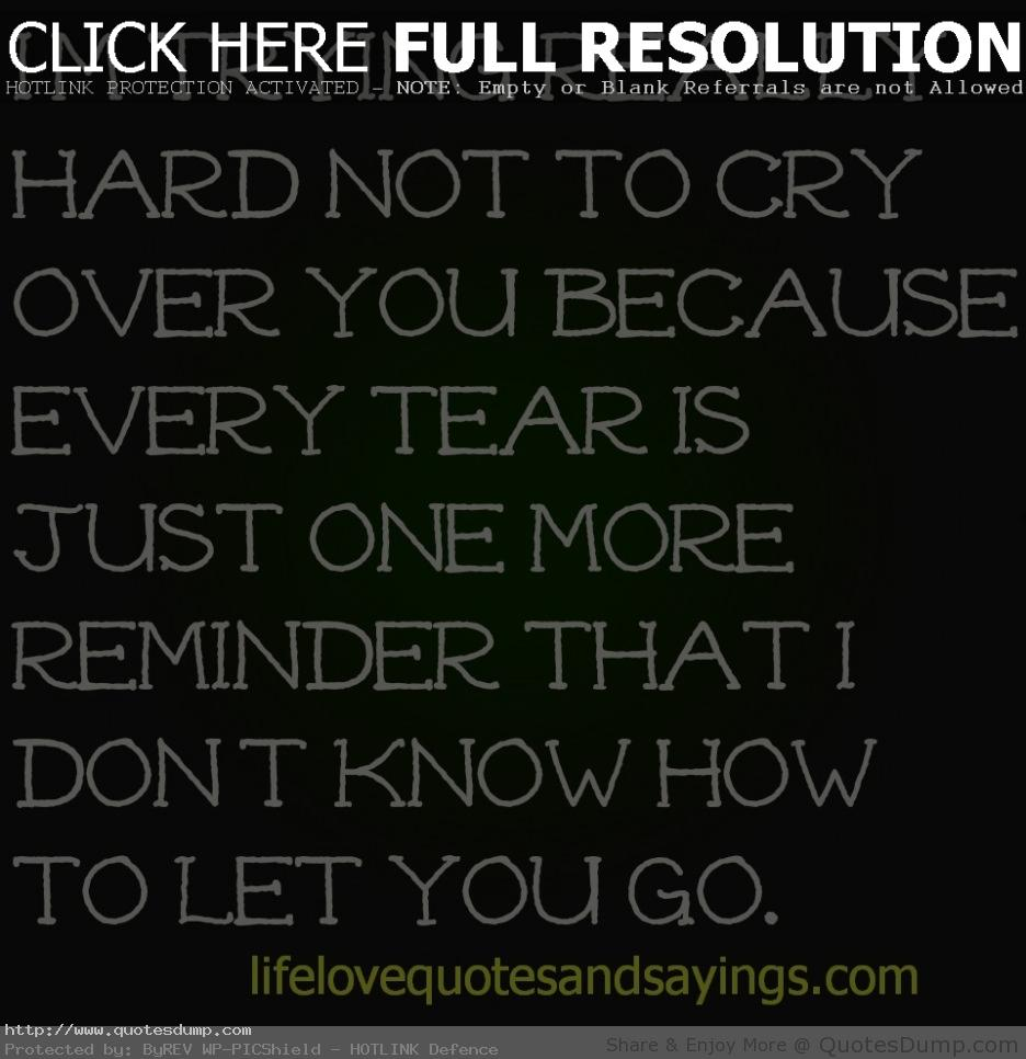 Dont Cry Over Him Quotes. QuotesGram
