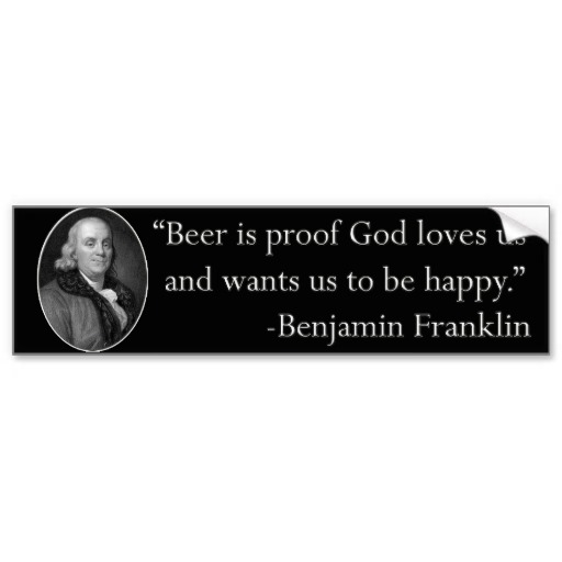 Ben Franklin Beer Quote: Question Authority Benjamin Franklin Quotes. QuotesGram