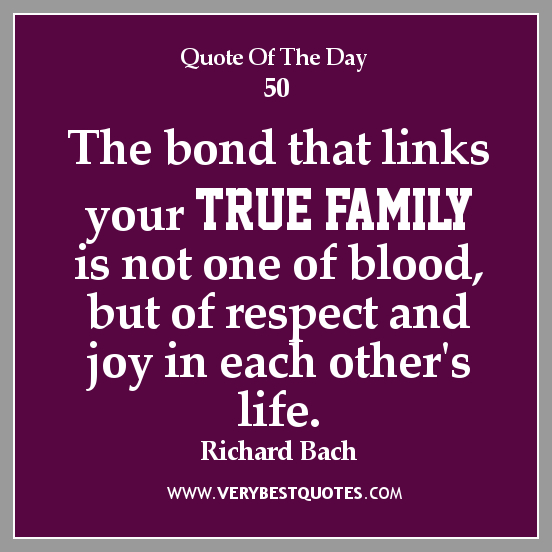 Quotes About Family Bonds. QuotesGram