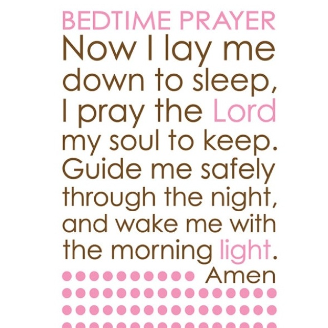 Night Time Prayer Quotes: Bedtime Prayers Quotes. QuotesGram