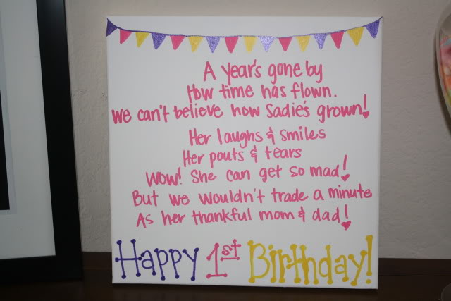 First Birthday Poems And Quotes Quotesgram