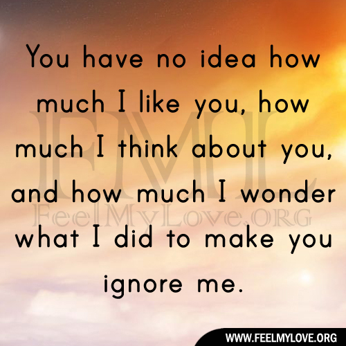I Love You Quotes: You Have No Idea How Much I Love You Quotes. QuotesGram