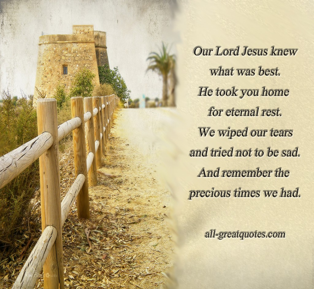 Sympathy Quotes For Loss Of Husband And Father: Jesus Family Share Quotes. QuotesGram