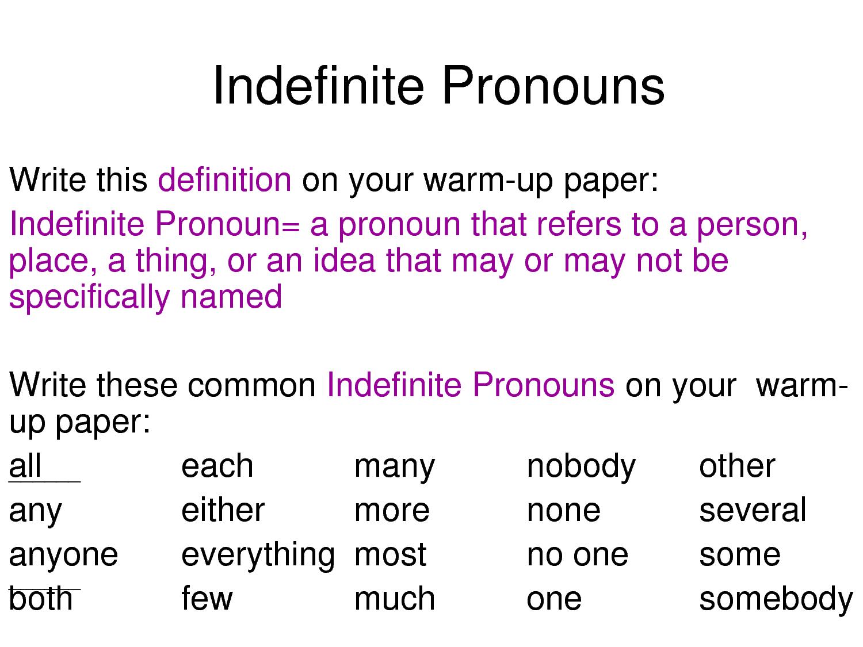 worksheet Indefinite Pronouns List worksheet indefinte pronoun mikyu free indefinite lengthphotos bloguez com chart