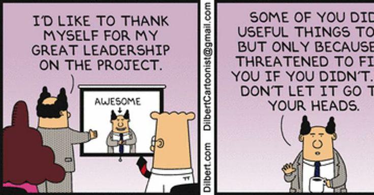 Dilbert Leadership Quotes. QuotesGram