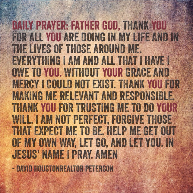 Inspirational Quotes About Positive: Daily Prayer Quotes. QuotesGram