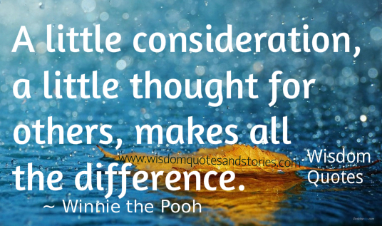 Consideration For Others Quotes On Pinterest. QuotesGram