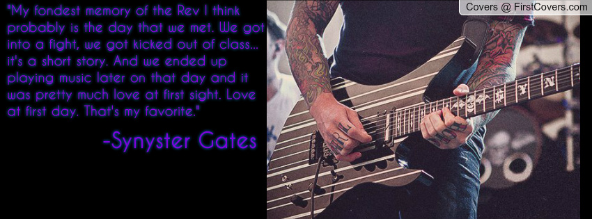 Funny Quotes Synyster Gates. QuotesGram