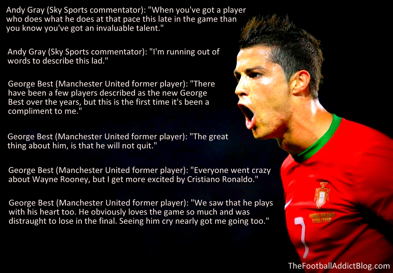 life of cristiano ronaldo Cristiano ronaldo is a portuguese footballer he currently plays for real madrid he is one of the modern day greats he has lived up to the name ronaldohe has won 3 ballon d'or during his career cristiano ronaldo is also one of the highest paid athletes in the world.