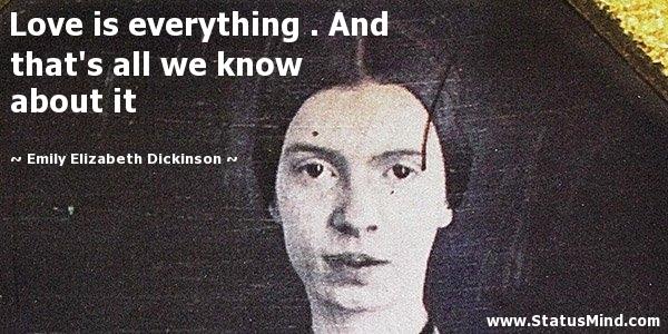 The Spirituality Of Emily Dickinson
