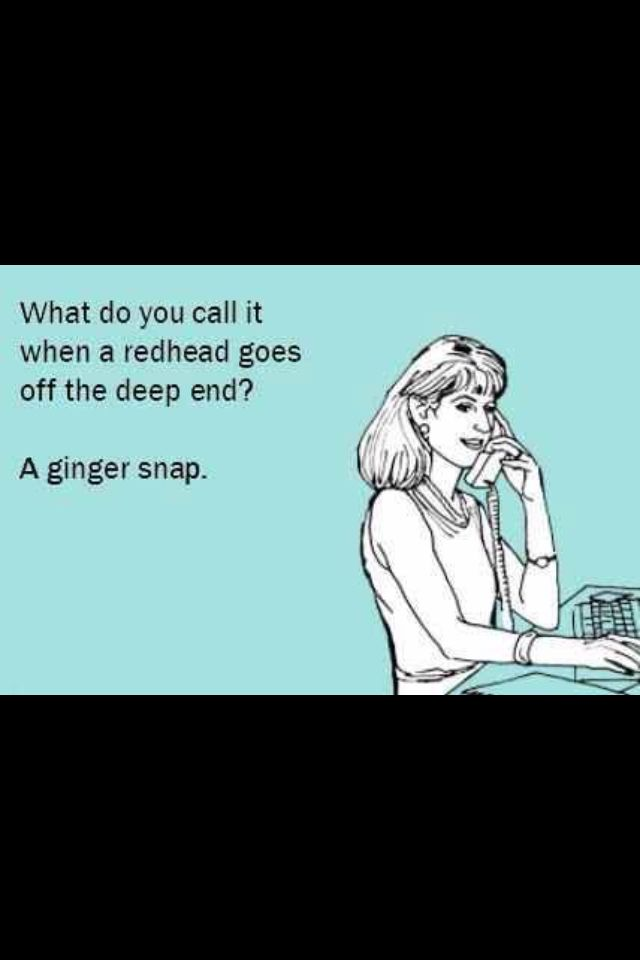 funny redhead nicknames