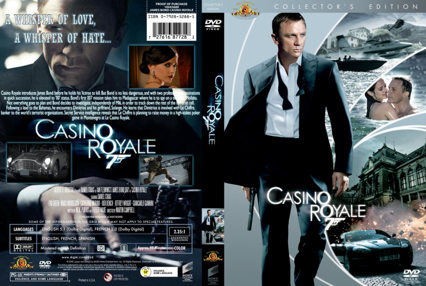 Dvd43 casino royale casino connection international