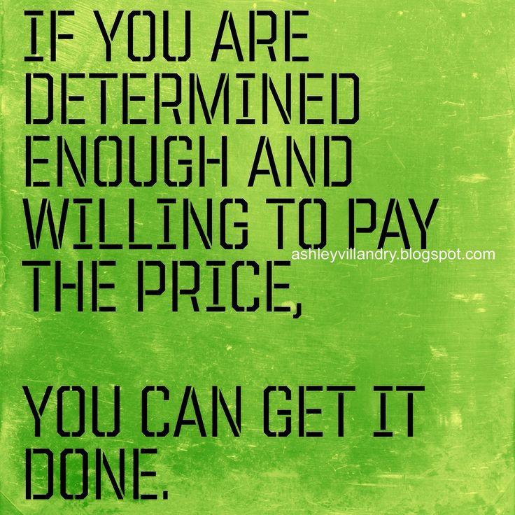 Determination And Goals Quotes. QuotesGram