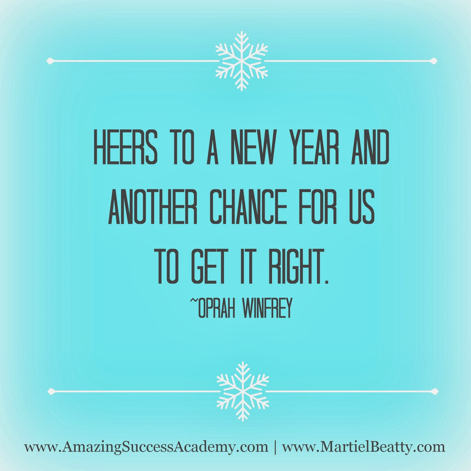 Happy New Year Oprah Quotes. QuotesGram
