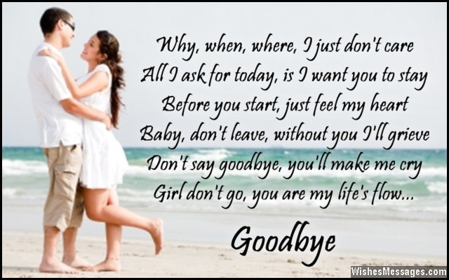 Goodbye Quotes For Husband. QuotesGram