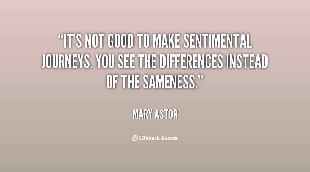 Sentimental Quotes On Life Quotesgram