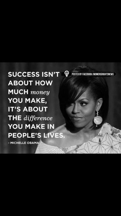 Woman Quotes By Michelle Obama
