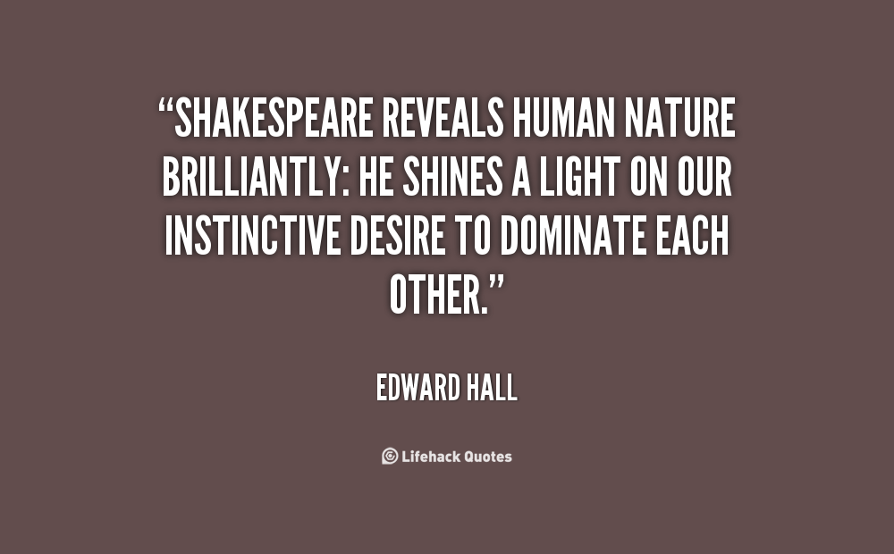 Edward T Hall Quotes: Macbeth Quotes Nature. QuotesGram