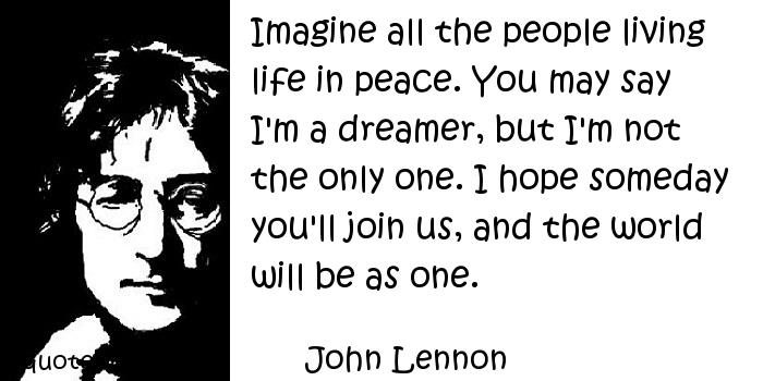 """Imagine"" World Peace: Protest Song Analysis"