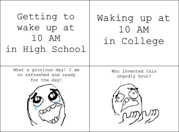 High School Vs College Quotes. QuotesGram