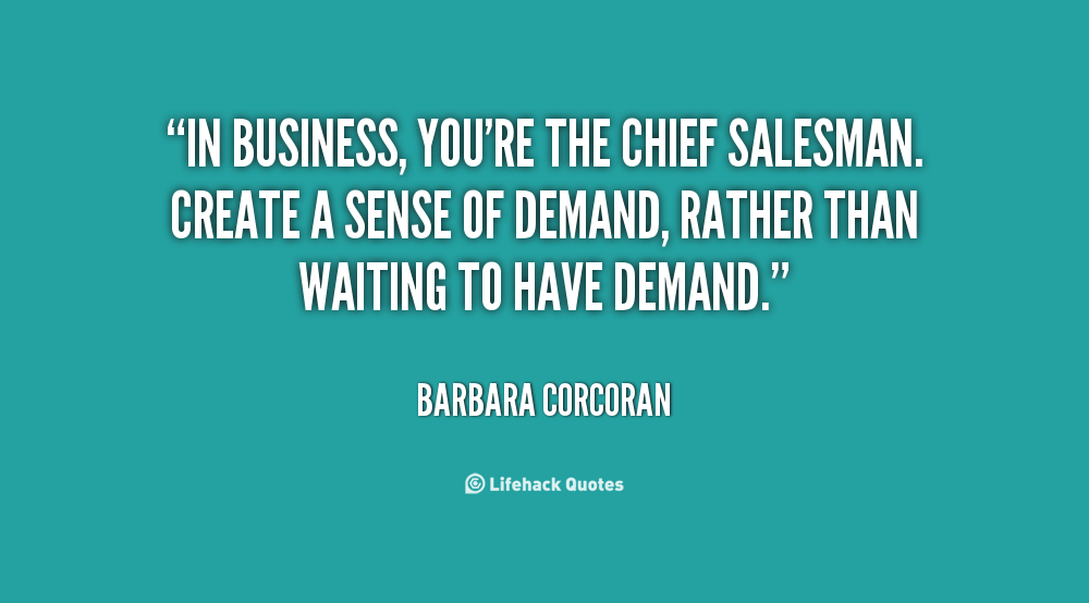 Salesman Quotes. QuotesGram