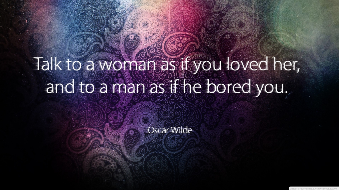 Oscar Wilde Quotes And Sayings X