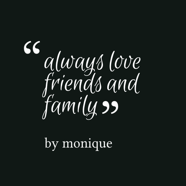 Friends Like Family Quotes Quotesgram