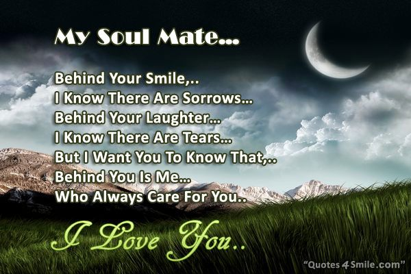 Soul Mate Quotes And Wishes. QuotesGram