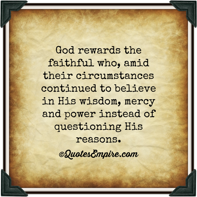 Faithfulness Quotes. QuotesGram