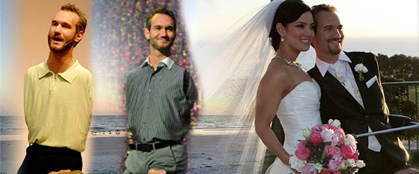 Wife nick vujicic Nick Vujicic