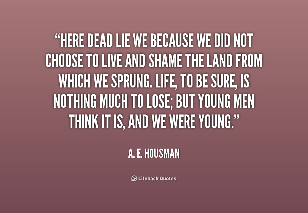 a e housmans is my team plowing Help with the poem is my team ploughing by a e housman  is my team plowing source  the poem because i liked you better by ae housman.