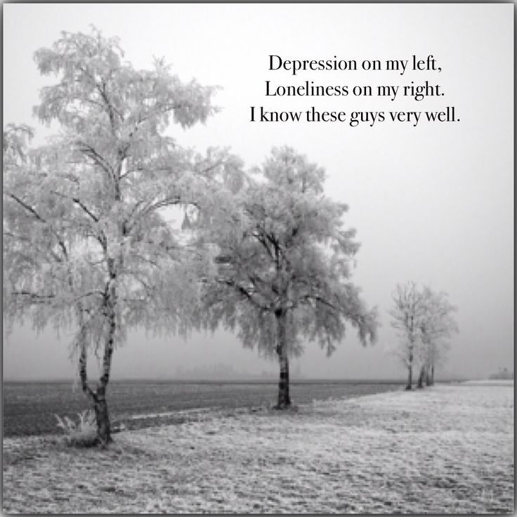 Quotes About Loneliness And Depression. QuotesGram