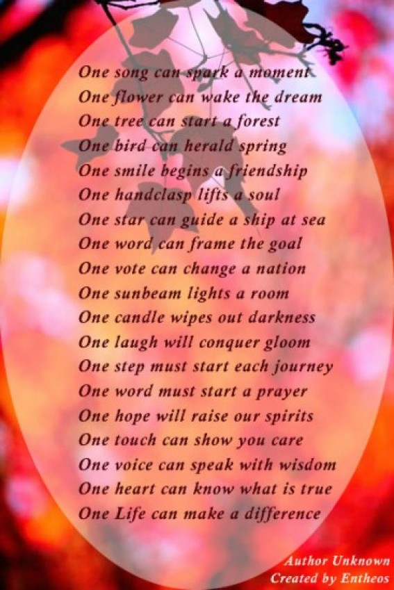 Poems spiritual motivational Inspirational Poems