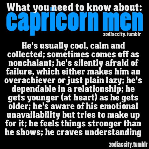 Quotes About Capricorn Men. QuotesGram