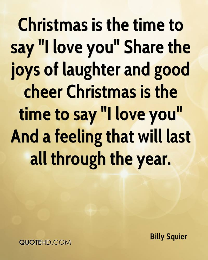 I Love You Quotes: Christmas I Love You Quotes. QuotesGram