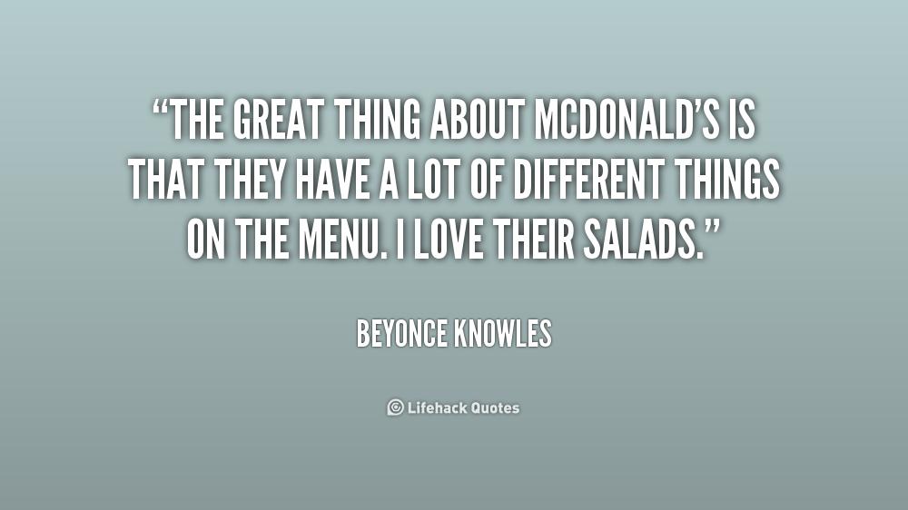 Mcdonalds Famous Quotes. QuotesGram
