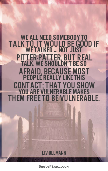 how to show your vulnerability