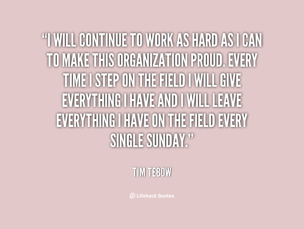 Tim Tebow Inspirational Quotes: Tim Tebow Quotes About Life. QuotesGram
