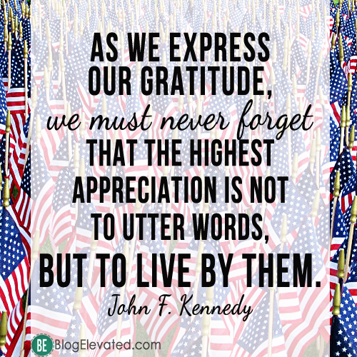 John F Kennedy Gratitude Quote: John F Kennedy Quotes On Veterans. QuotesGram