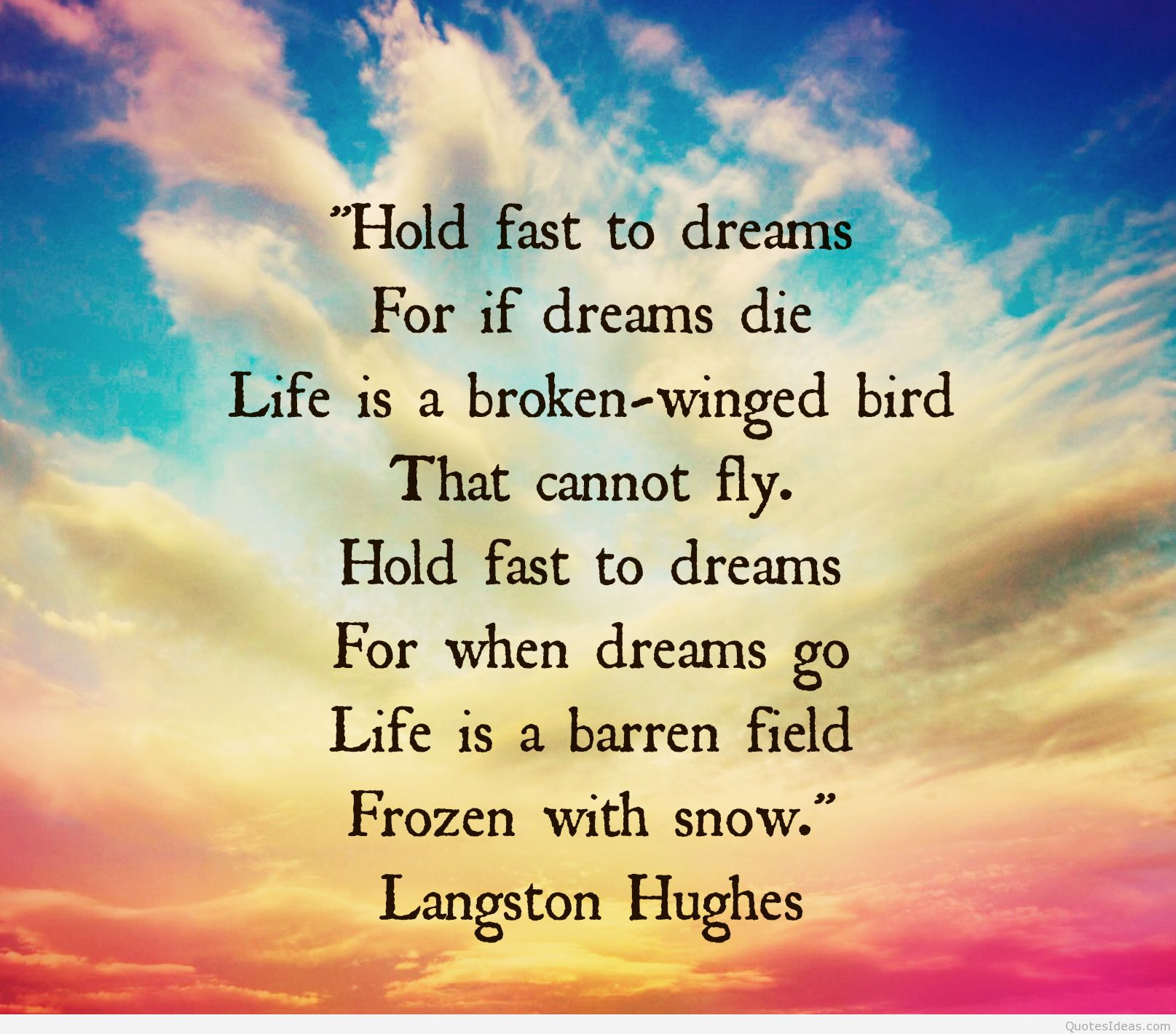 Dreams: Hold On To Your Dreams Quotes. QuotesGram