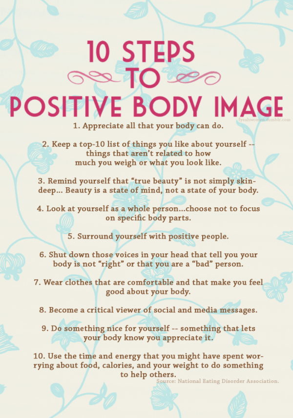 Positive Body Image Quotes Quotesgram