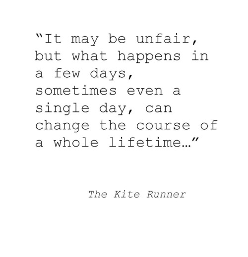 loyalty quotes the kite runner Loyalty and betrayal in the kite runner: book by: khaled hosseini: the kite runner reading about the taliban in the kite runner is terrifying.