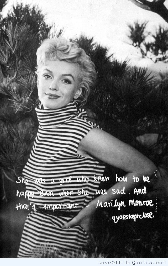 Beauty Quotes Marilyn Monroe