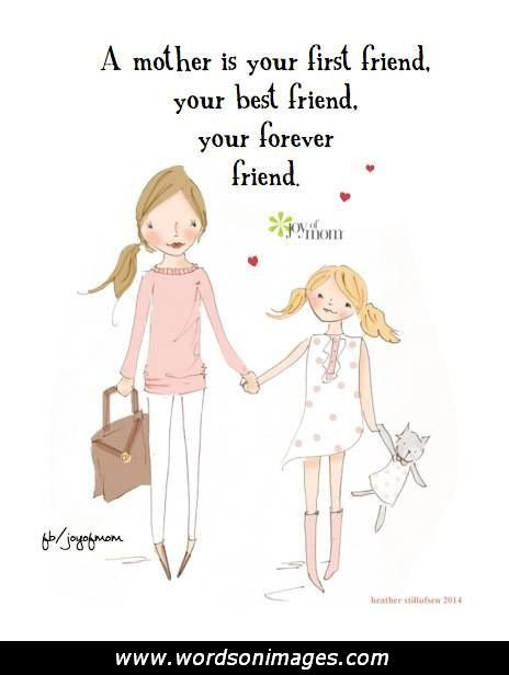 Best Friend Becoming A Mother Quotes: Mother Daughter Best Friend Quotes. QuotesGram