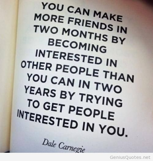 Quotes About Love Relationships: Dale Carnegie Quotes On Communication. QuotesGram