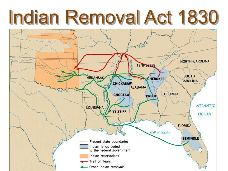 Indian Removal Act Quo...