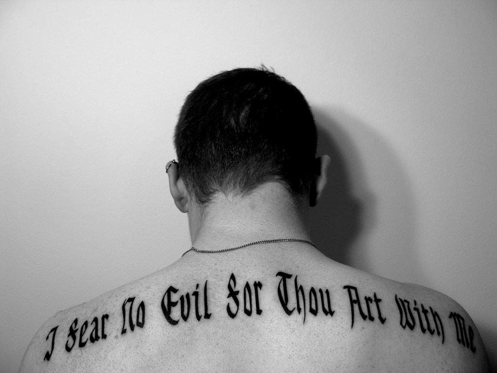 No Fear Tattoo Quotes. QuotesGram