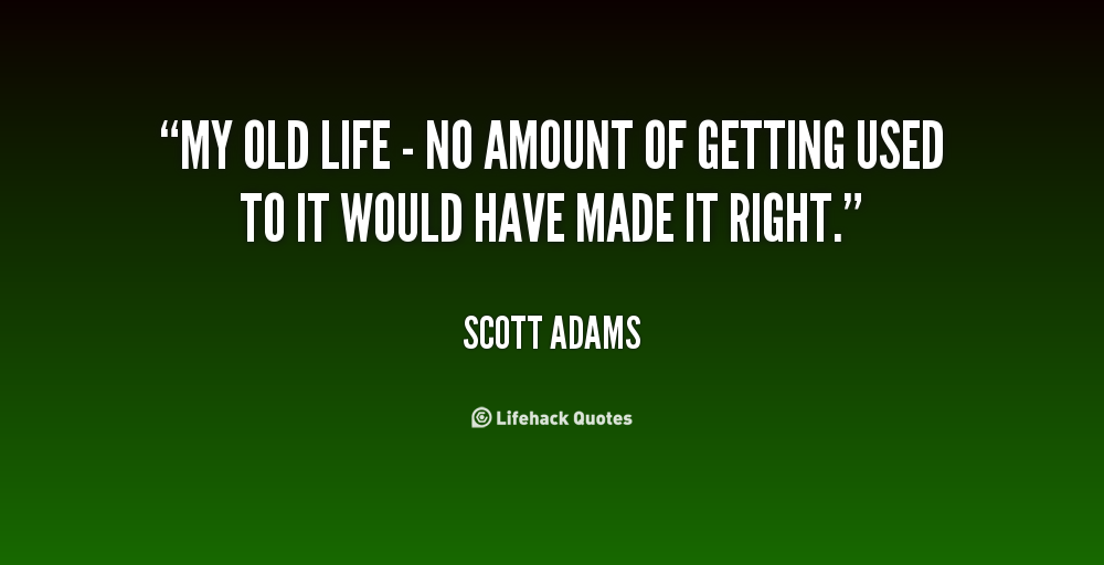 the life and art works of scott adams Kate adams is a visual artist, co-founder and director of project art works   knowledge is power and informed diplomacy the most effective means of  achieving quality of life for people with complex needs and their families   georgie scott.