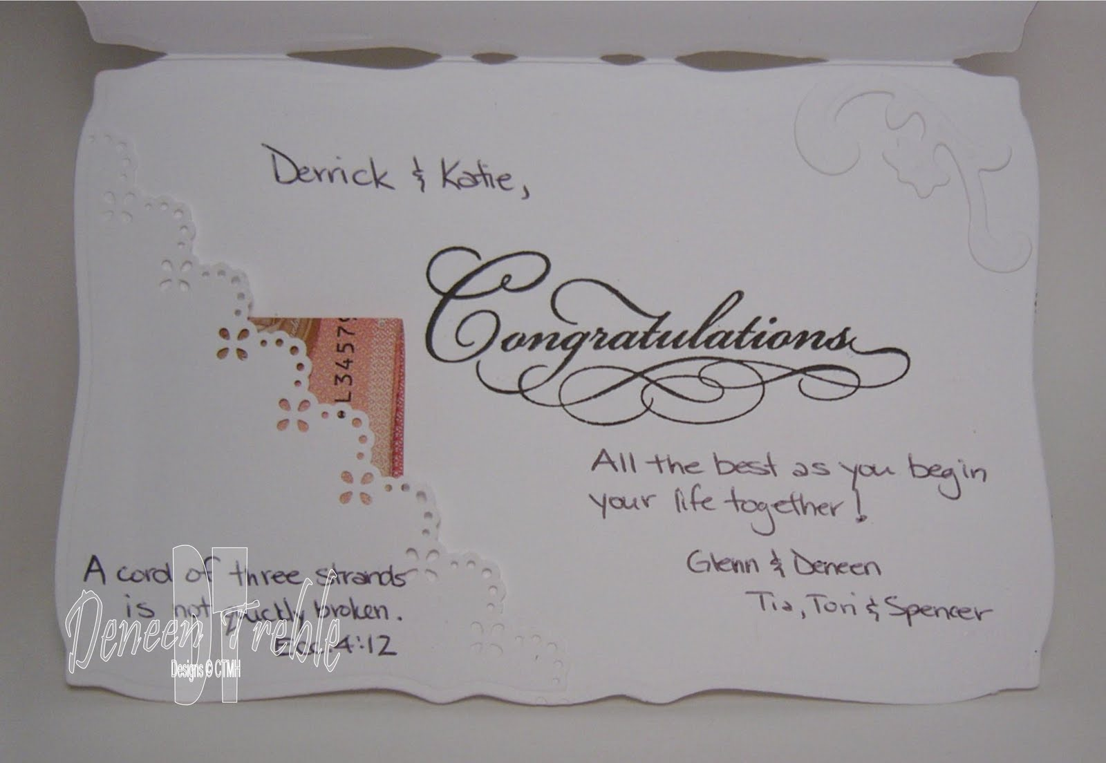 Bridal Shower Card Messages Religious Wedding Invitation Sample – Wedding Gift Cards Messages
