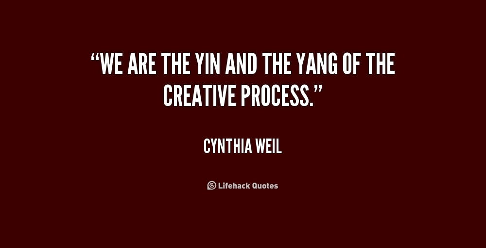 quotes about ying and yang quotesgram